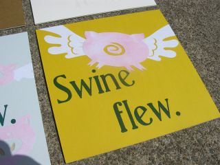 Swine Flew. at Rochester Contemporary